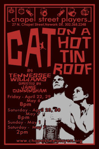 (DEArtsInfo) Cat on a Hot Tin Roof heats up Chapel Street