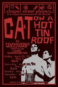 (DEArtsInfo) Cat on a Hot Tin Roof heats up Chapel Street