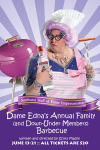 Dame Edna's Annual Family (and Down-Under Members) Barbecue