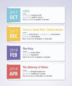 83rd Season production schedule