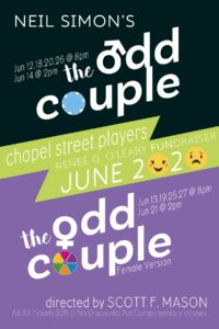 Audition :: The Odd Couple
