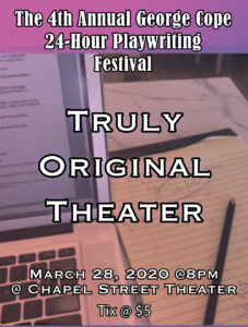 The George Cope 24-Hour Playwriting Festival